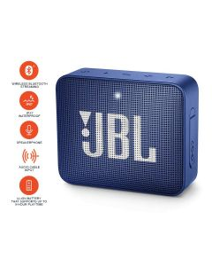 JBL GO2 Bluetooth Portable Speaker - Blue