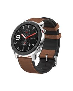 Amazfit GTR-47MM Smart Watch - Stainless Steel