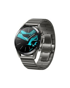 Huawei GT2 Smart Watch 46mm Metal Strap- Titanium Grey