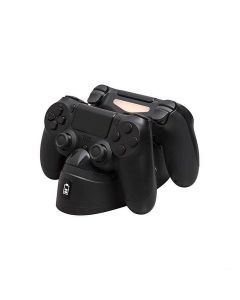 HyperX HX-CPDU-G PS ChargePlay Duo Controller Charging Station for PS4 - Black