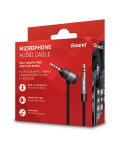 iSound ISOUND-6864 Microphone Audio Cable 90cm - Black