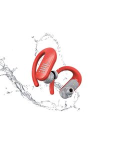JBL Endurance Peak II Waterproof True Wireless In-Ear Sport Headphones - Coral