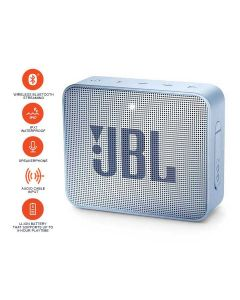 JBL GO2 Bluetooth Portable Speaker - Cyan