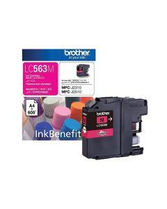 Genuine Brother LC563M Ink Cartridge - Magenta
