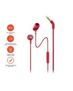 JBL Lifestyle LIVE 100 In-Ear Headphones - Red
