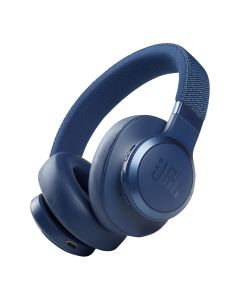 JBL Live 660NC Wireless Over-Ear Noise Cancelling Headphones - Blue
