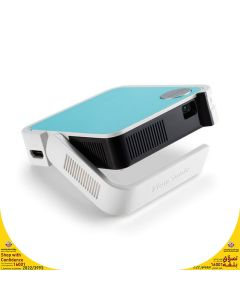 ViewSonic M1 mini Plus - Ultra-Portable Smart LED Projector with JBL Bluetooth Speaker