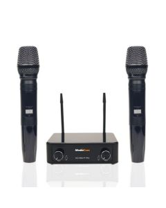 MediaCom MCI 899U Wireless Microphones- 96 Channel UHF Wireless Microphone System with 2 Handsets