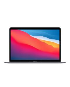 """Apple MacBook Air 13"""",  M1 chip with 8-core CPU and 7-core GPU, 256GB SSD- Space Grey (MGN63AB/A)"""