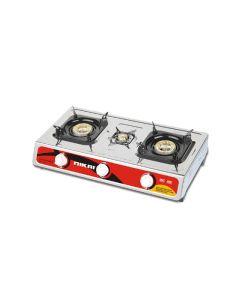 Nikai NG 845 3 Burner Stainless Steel Gas Table