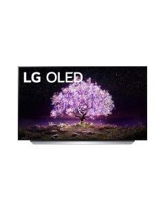 LG OLED65C1PVB OLED TV 65 Inch C1 Series Cinema Screen Design 4K Cinema HDR webOS Smart with ThinQ AI Pixel Dimming
