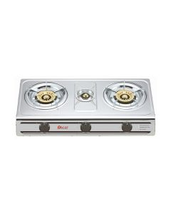 Oscar OGTSS3B 3 Burner Stainless Steel Gas Table