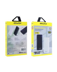 Awei P3K 5,000mAh Slim Portable Powerbank