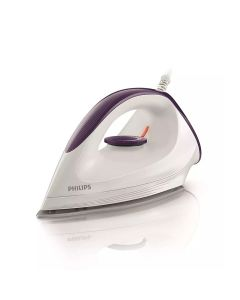 Philips GC1602 Affinia Dry Iron with DynaGlide Soleplate, 1200 Watt