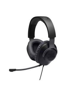JBL Quantum 100 Wired Over-ear Gaming Headset with a Detachable Mic - Black