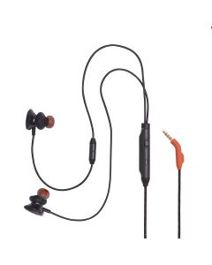 JBL Quantum 50 Wired In-ear Gaming Headset with Volume Slider and Mic Mute - Black
