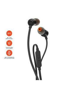 JBL T110 Earphone - Black