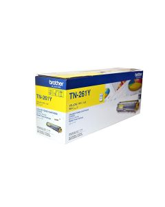 Brother TN 261 Yellow Color Toner